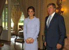 The Duchess of Cambridge and King Willem-Alexander | Nieuwsbericht | Het Koninklijk Huis