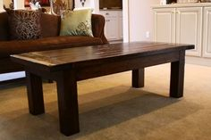 Ana White   Build a Updated Tryde Coffee Table - Pocket Holes   Free and Easy DIY Project and Furniture Plans