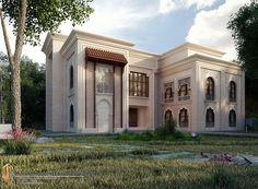 Islamic Villa Location Riyadh Saudi Arabia3D Max 2011+vary+Photoshop
