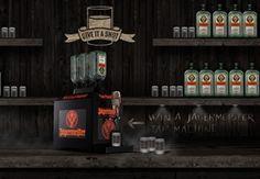 Give it a Shot - Win a Jägermeister Tap Machine! Liquor Cabinet, Home Decor, House Bar, Interior Design, Home Interior Design, Home Decoration, Decoration Home, Interior Decorating