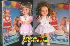 Boneca Bate Palminha