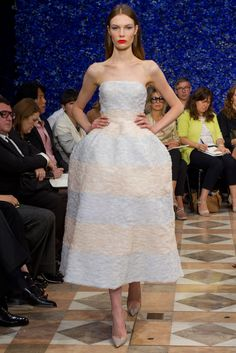 Christian Dior Fall 2012 Couture Fashion Show - Alexandra Martynova (CITY)