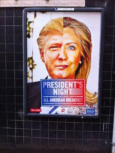 Poster, Presidents night, Amsterdam