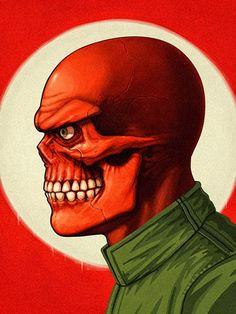 Incríveis ilustrações detalhadas de Heróis e Vilões da Marvel por Mike Mitchell | SuperVault