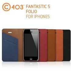 Lab.C Fantastic 5 Folio Flip Case for iPhone 5,Galaxy S4 at U$28.98