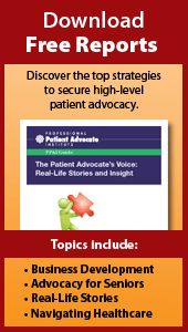 Certificate in Professional Patient Advocacy - Professional Patient Advocate Institute