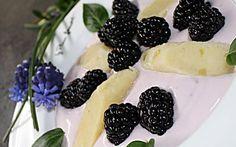 ŠIŠKY V OSTRUŽINOVÉ OMÁČCE - nízkosacharidové Blackberry, Low Carb, Keto, Fruit, Food, Fitness, Noodles, Kuchen, Essen