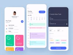 A list of top User Inteface (UI) and User Experience (UX) Design Works for Inspiration . Mobile app interfaces and Web design works. Web Design, App Ui Design, Flat Design, Interface Design, User Interface, Design Trends, Application Ui Design, Mobile Application, Web Mobile