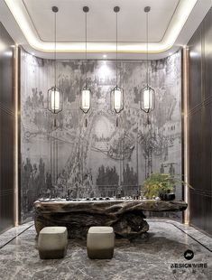 90 Best Home Decor Ideas Modern Chinese Interior, Asian Interior, Antique Interior, Zen Interiors, Hotel Interiors, Office Interior Design, Interior Decorating, Industrial Bedroom Design, Art Nouveau Interior