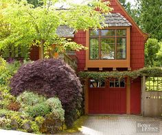 Upgrading your garage door provides an instant face-lift for your home's exterior: http://www.bhg.com/home-improvement/exteriors/curb-appeal/curb-appeal-on-a-dime/?socsrc=bhgpin033015upgradethegaragedoor&page=12