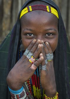 Erbore Tribe Woman, Erbore, Omo Valley, Ethiopia © Eric Lafforgue
