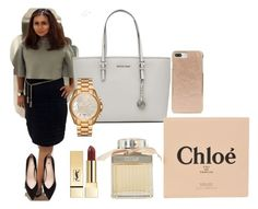 """""""private collection"""" by evipane on Polyvore featuring MICHAEL Michael Kors, Chloé, PUR, Michael Kors and Kate Spade"""