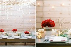 amazing christmas dining tables | Gorgeous} California Christmas – Part 1 // Hostess with the ...