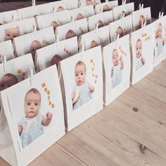Evt sæt bogstaver ind på computeren, eller lav bogstaver i hama perler som bordplassering. Christening Party, Baptism Party, Baby Event, Baby Boy Baptism, Birth Announcement Girl, Baby Prince, Baby Birth, Birthday Fun, Holidays And Events