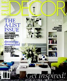 Thom Filicia Featured In Elle Decor June 2013 Issue. Thom Designs A  Connecticut Retreat With