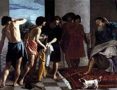 Joseph's Bloody Coat Brought to Jacob