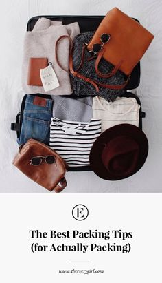You've read list after list of what to pack, but what about how to pack? We all dread trying to