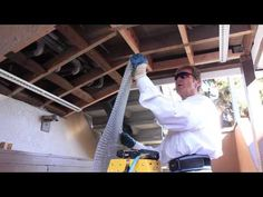 How to lath a soffit, lid, or ceiling area before applying