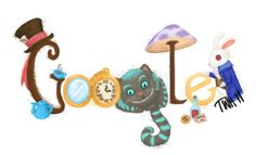alice in wonderland google doodle, when was this and how did I not hear about it?