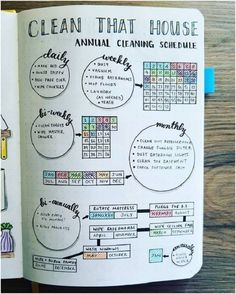 Are you searching for bullet journal ideas to keep your house clean & organized? Here are 15 bullet journal layout ideas to use as inspiration for your spring cleaning schedule. Bullet journal inspiration isn't exactly difficult to come by but there are s