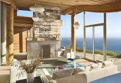 Dani Ridge House, California - Adelto  uma sala como esta é tudo de bom!
