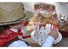 Resultado de imagem para decoração festa infantil cowboy