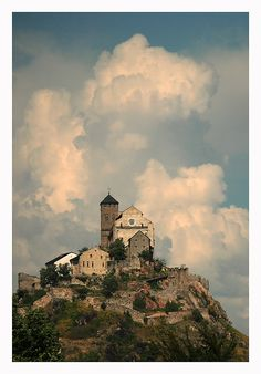The Clouds on Sion, Switzerland Copyright: Bertrand DEVIMEUX