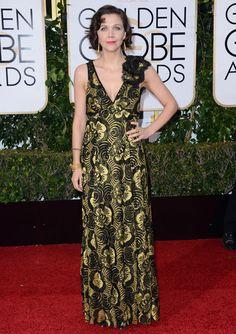 Maggie Gyllenhaal au Golden Globes 2016