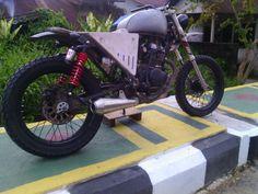 honda verza // still progress customized by : minorfighters squad custome bike