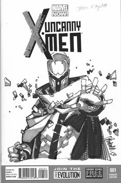 Magneto sketch by Chris Bachalo