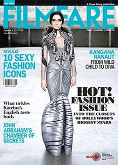Kangana Ranaut Filmfare cover  | #Bollywood #Celebrities #Fashion #Magazine