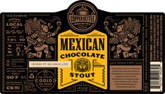 Copper Kettle Mexican Chocolate Stout Label
