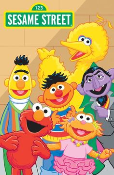 Sesame Lg 350x536 Big Bird Street Books