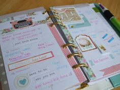 My Webster's Pages Planner - Week 35