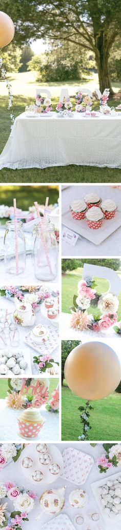 A Baby is Brewing Tea Party | Tea Party Inspiration and Ideas | #TeaParty #BabyShower | Shabby chic tea party | Tea Party Kit by Undercover Hostess