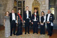 King Felipe and Queen Letizia Visit Portugal – Day 1 (State Dinner) Nov 2016