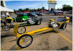 Front Engine Dragster by Mark O'GradyMOSpeed Images, via Flickr