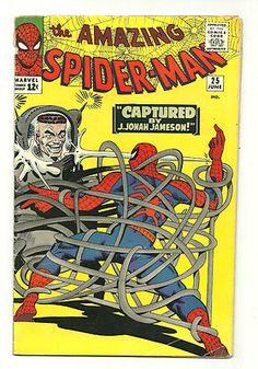 AMAZING SPIDER-MAN #25 Featuring the FIRST appearance of Mary Jane Watson, Spencer Smythe and the first Spider-Slayer.