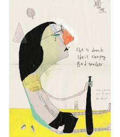 NAYOUN KIM :: an illustrator from South Korea «  Illustration Friday