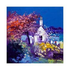 Spring at Crinan Collectable Print by John Lowrie Morrison at Art.com