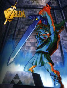 Legend of Zelda classic Link moment.