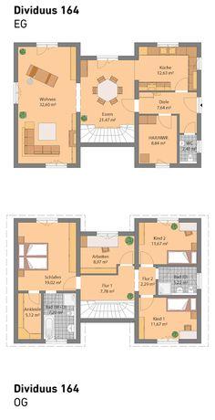 Spektral-Haus Dividuus 164 All unsere Häuser sind individuell planbar und auch mit Keller möglich. Wir bauen schlüsselfertig.