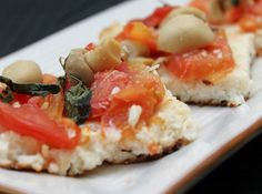 Torta Rápida de Tomates com Ricota! #pie #fast #torta #tortinha #food #snack #petisco #aperitivo #tomate #tomatoe #ricota #ricotta #cheese #queijo #healthyfood #comidasaudavel #champignon #manjericao #basil #receita #recipe #cybercook