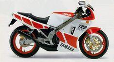 Yamaha TZR 250 (1986).