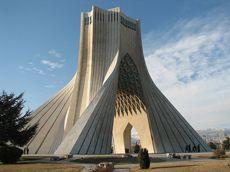 Iran's capital, Tehran, is a vast megacity of 15 million people, dwarfed my the majestic Alborz Mountain Range to its north.
