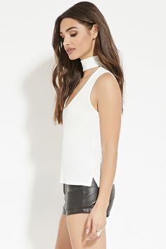Front Cutout Top
