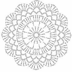 Watch The Video Splendid Crochet a Puff Flower Ideas. Phenomenal Crochet a Puff Flower Ideas. Motif Mandala Crochet, Crochet Potholder Patterns, Crochet Coaster Pattern, Crochet Diagram, Crochet Chart, Crochet Squares, Free Doily Patterns, Crochet Stitches, Free Pattern