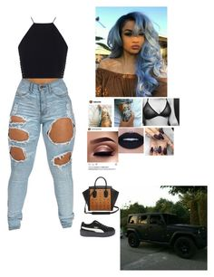 """""""GD- Middle Fingers"""" by mirical on Polyvore featuring Zimmermann, Puma and MCM"""