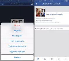 Come vedere dettagli amicizia Facebook