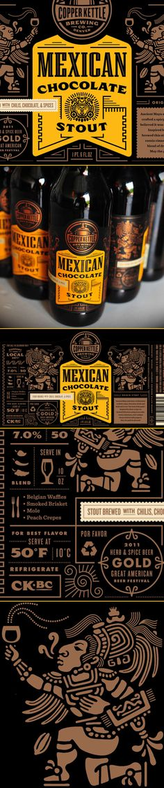 Mexican Chocolate Stout by Copper Kettle Brewing via ohbeautifulbeer.com